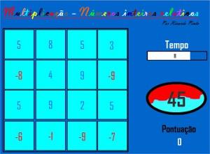 Imagem do jogo da multiplicação.
