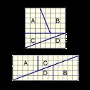 Ilustração do problema a diferença na área