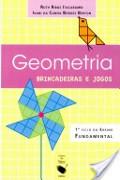 Capa do livro geometria, brincadeiras e jogos.