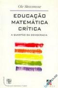 Capa do livro educação matemática crítica
