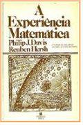 Capa do livro a experiência matemática.