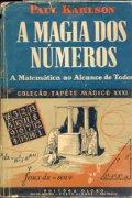 Capa do livro a magia dos números