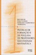 capa do livro praticas de formaçao de pesquisa de professores que ensinam matemática.