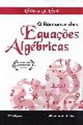 Capa do livro o romance das equações algébricas.