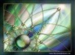 Imagem de fractal gerada por computador. Útil para o trabalho com geometrias não euclidianas.