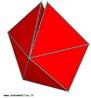 Uma maneira simples de compreender por que há somente cinco poliedros regulares é examinar como os polígonos regulares podem ser dispostos em torno de um vértice de modo que a soma de seus ângulos seja menor do que 360°. Da mesma maneira, para entender quantos polítopos regulares de quatro dimensões existem, pode-se examinar como os poliedros regulares podem ser dispostos em torno de uma aresta de modo que a soma dos ângulos de seus diedros seja menor do que 360°. Aqui nós vemos cinco tetraedros em torno de uma aresta. Com esta combinação pode-se obter o 600-célula.