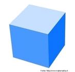 Representação de um cubo no plano.