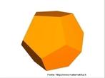 Um dodecaedro regular.
