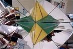 Uma estrela octangula bicolor no caleidoscópio do tetraedro.