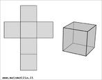 Com esta imagem do hexaedro e de sua planificação, o Professor pode trabalhar elementos do mesmo, bem como utilizá-la como molde para uma possível atividade em sala de aula.