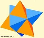 O estrelamento de um poliedro consiste em estender os planos definidos pelas faces do poliedro até se intersectarem, formando assim um novo sólido. O stella octangula (estrela de oito braços), também conhecido como octaedro estrelado é um poliedro gerado por composição de dois tetraedros. O nome foi-lhe atribuído por Johannes Kepler em 1609. É o mais simples poliedro regular composto. Os vértices dos dois tetraedros definem um cubo, e a sua intersecção um octaedro. Este é também o único estrelamento do octaedro.