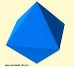 Um octaedro regular.