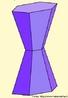 Imaginando a expansão da parte central deste poliedro, comprova-se que a convexidade não é importante para a validação da relação de Euler (vértices - arestas + faces = 2). Este operação não altera o número de vértices, arestas e faces, mas o poliedro côncavo passa a ser convexo.