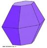 Imaginando a compressão da parte central deste poliedro, comprova-se que a convexidade não é importante para a validação da relação de Euler (vértices - arestas + faces = 2). Este operação não altera o número de vértices, arestas e faces, mas o poliedro convexo passa a ser côncavo.
