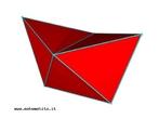 Uma maneira simples de compreender por que há somente cinco poliedros regulares é examinar como os polígonos regulares podem ser dispostos em torno de um vértice de modo que a soma de seus ângulos seja menor do que 360°. Da mesma maneira, para entender quantos politopos regulares de quatro dimensões existem, pode-se examinar como os poliedros regulares podem ser dispostos em torno de uma aresta de modo que a soma dos ângulos de seus diedros seja menor do que 360°. Aqui nós vemos três tetraedros em torno de uma aresta. Esta combinação produz o hypertetraedro.