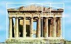 Razão Áurea: Parthenom - Atenas